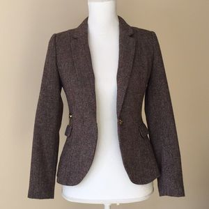 H&M Tailored Tweed Blazer